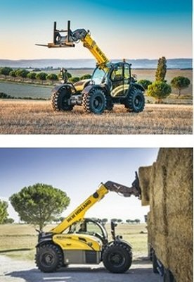 ITT VIMO New Holland and its new telescopic handlers