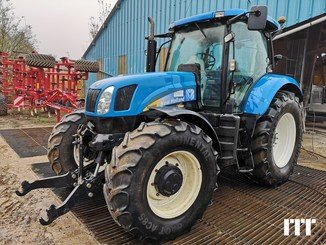 Farm tractors New Holland T6080 - 1