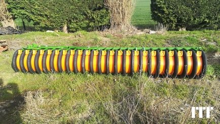 Lift lawn roller Amazone MATRIX - 1