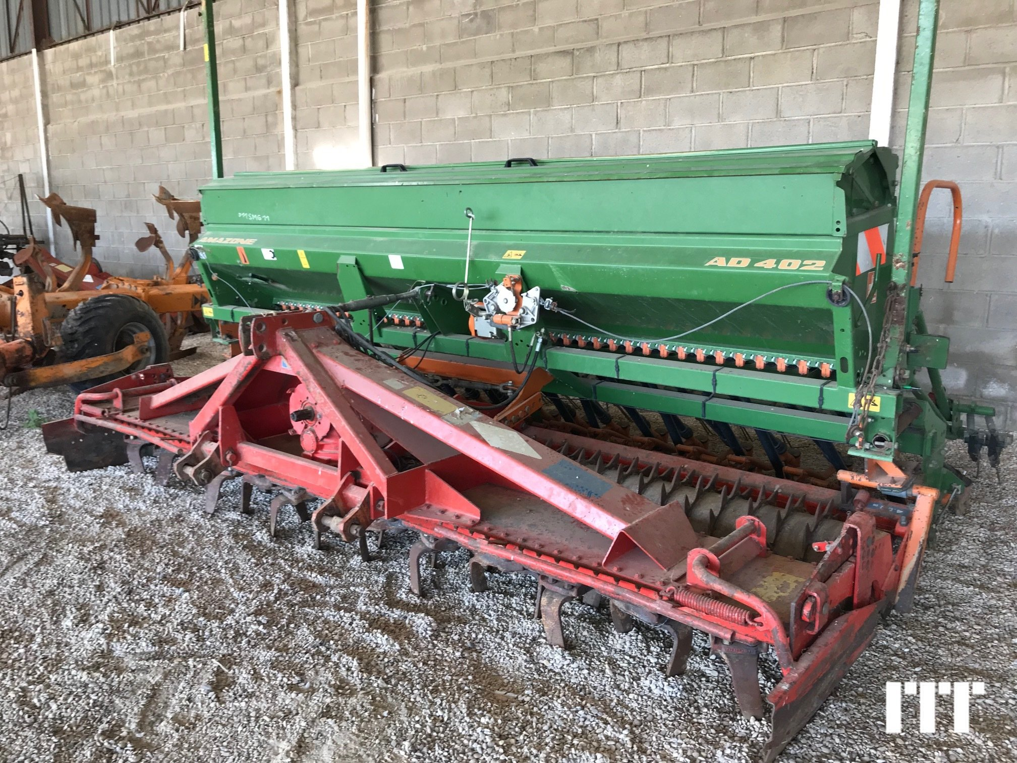 Seed drill Amazone AD 402 S - 1