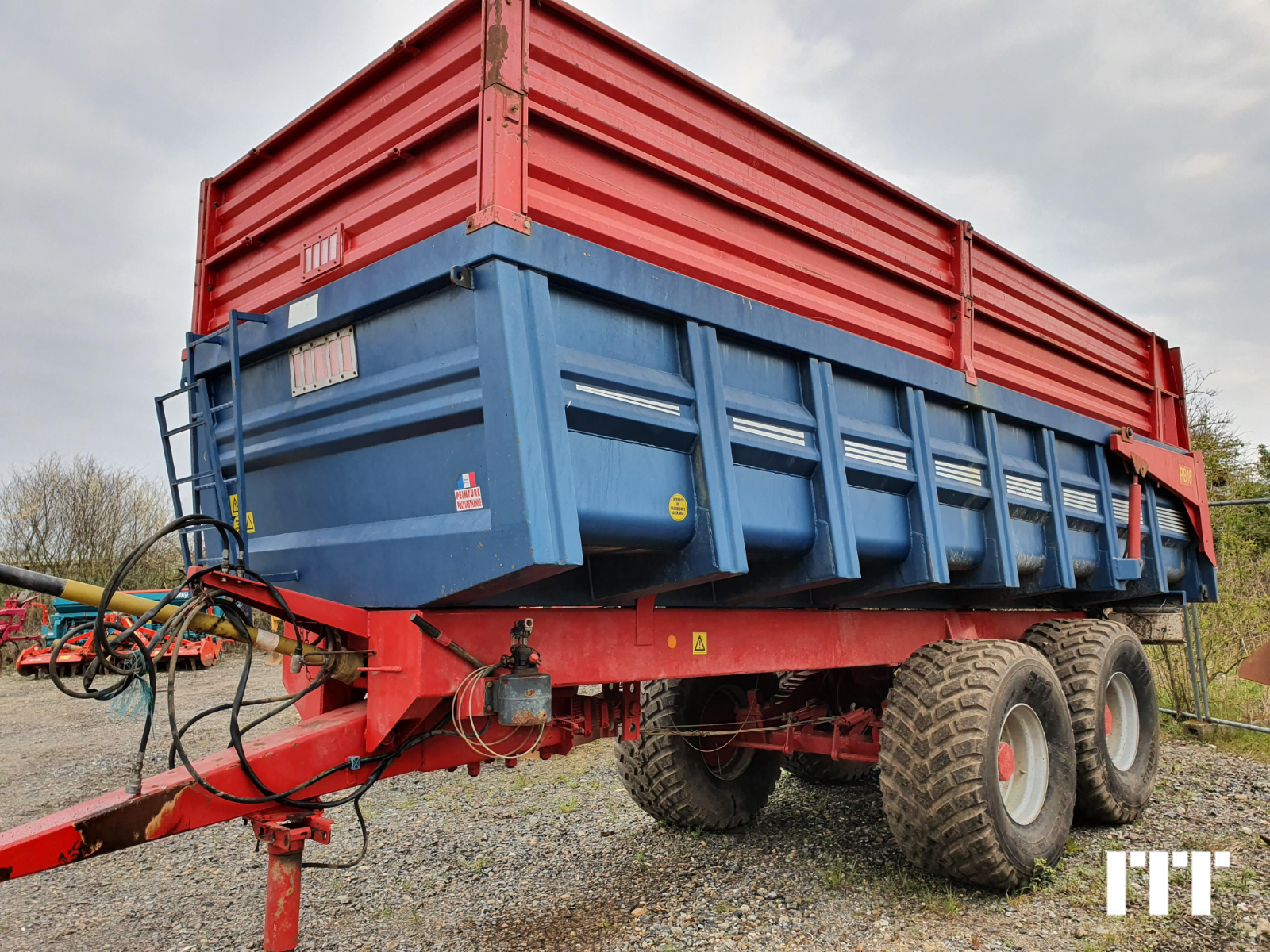 Cereal tipping trailer Robust ROBUST 16 - 1